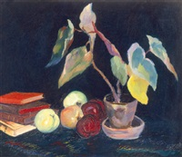 still life by albert paál