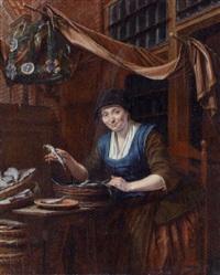 a fishmonger by gerrit zegelaar