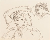 deux portraits by jacques majorelle