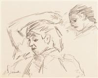 deux portraits by jacques majorelle