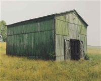 gray, tn (green barn) by mike smith