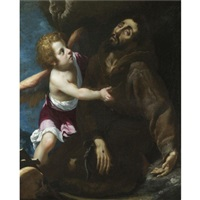 the stigmatisation of saint francis by giovanni bilivert
