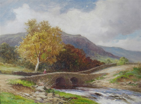a river landscape another pair by john bates noel