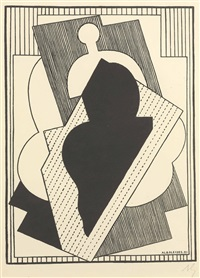 composition cubiste by albert gleizes