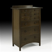 nine-drawer chest by harvey ellis