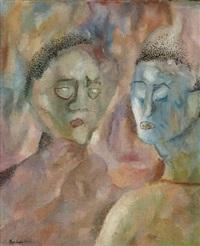 deux personnages by manuel rendón