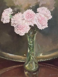 still life with carnations by david hone