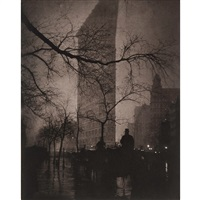 the flatiron building, new york, 1905 from the early years, (aperture) by edward steichen