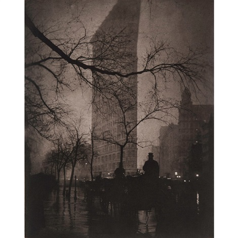 the flatiron building new york 1905 from the early years aperture by edward steichen