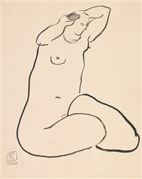 bather by sanyu