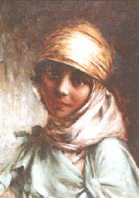 aïcha, algérie by georges gasté