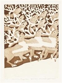 summer migration by germaine arnaktauyok