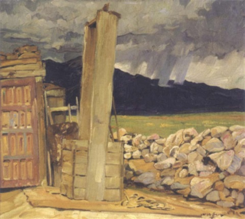 new mexican well by walter ufer