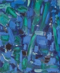 abstrait bleu by nejad devrim