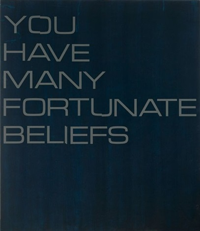 you have many fortunate beliefs by tim ayres