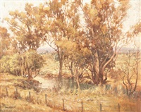 untitled (landscape) by john allcott