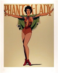 phantom-lady by mel ramos