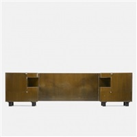 custom headboard and nightstands by henry p. glass