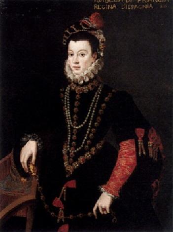 Portrait of Isabella de Valois...
