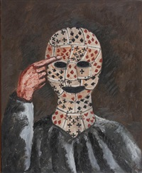 face of cards by natalia nesterova