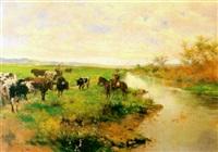 toros en la dehesa by alvarez primitivo armesto