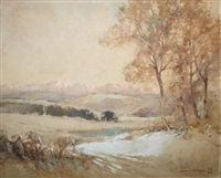 drakensberg morning by william mitcheson timlin