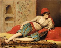 odalisque by jules badin