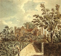 mr. grose's house at wandsworth by francis (capt.) grosse