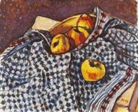 stilleben mit äpfeln by ivo hauptmann