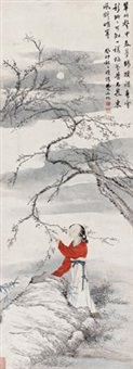 采梅图 by fei danxu