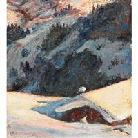 turrach, karinthia, alps by ernest lindner