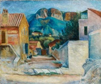 vue de cassis by georges ascher