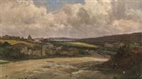paysage de bretagne by charles henri quinton