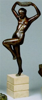 danzatrice by nicola d' antino