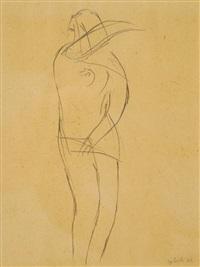 femme nue by emile gilioli