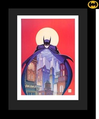 night vigil over gotham by bob kane