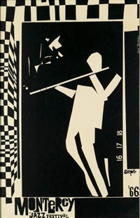 monterey jazz festival by earl newman