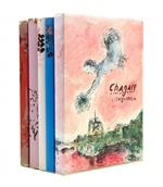 chagall lithographe i-iv and lithographs vi (2 vol. with 28 original works) by marc chagall
