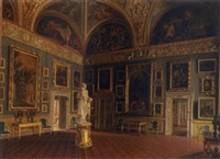 the iliad room in the pitti palace by santi corsi