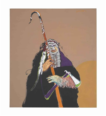 indian prophet by fritz scholder