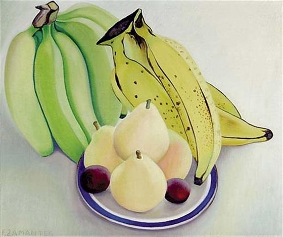 fruit still life by francisco dosamantes