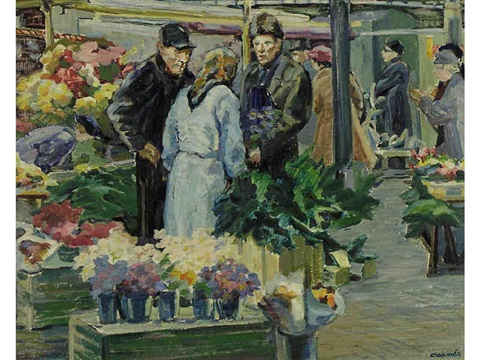 market stockholm sweden by edith grace coombs