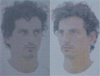 double self-portrait by yishai jusidman