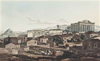 views in greece (30 works) by edward dodwell