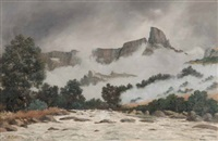 mount-aux-sources, natal national park, drakensberg by cathcart william methven