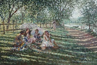 picnic at henley by sherree valentine daines