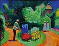 in the garden by karl kluth