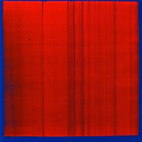 senza titolo - red and blue by peter davies
