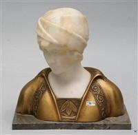 buste de jeune fille by gustave van vaerenbergh