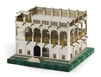 palatial state building of qatar (model) by grant macdonald
